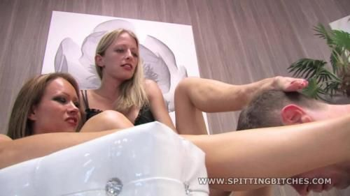 2 Girls And Their Saliva - Feet Licking And Spit On