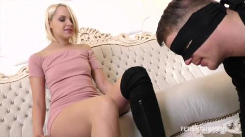 Forced To Lick Off The Sweat (Miss Serenas Amateur Video)