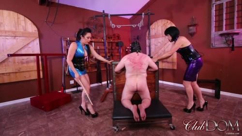 Liberated From Manhood By Jean And Lydia - Caning