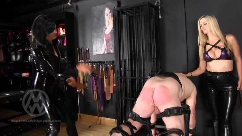 Strapped And Paddled By Hunteress And Nikki Whiplash