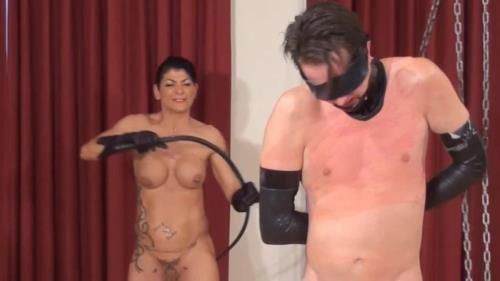 Naked Mistress Savage Whipping