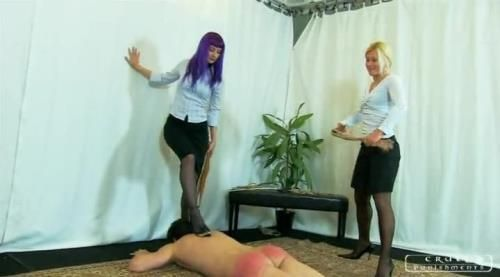 Lady Zita, Lady Suzy - Severe Femdom - Brutal Spanking By Two Mistresses