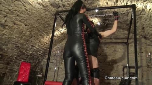 Fetish Liza - Bound, Teased And Denied Leather Slave Part 2