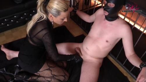 Hard And Uncut - Leather-Cbt Cock Torture And Long Leather Gloves