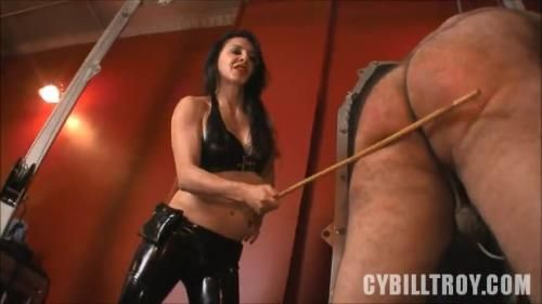 Caned By Mistress Alicia