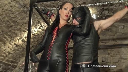 Fetish Liza - Bound, Teased And Denied Leather Slave Part 1