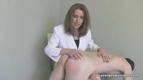 Mistress Ayn - Spanking And Paddling The Lazy Slave