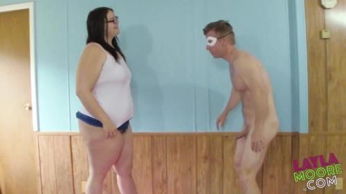 Layla Loves Ball Busting Amazonian Ball Kicking With Layla Moore