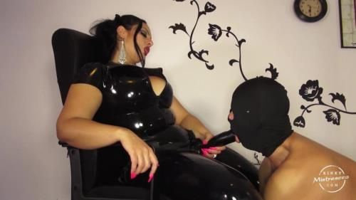 Goddess Ezada Sinn - Slave Sucks Cock