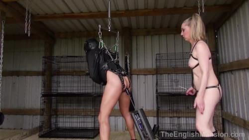 Mistress Sidonia - Suspended Mechanical Arse Fuck - Part 1