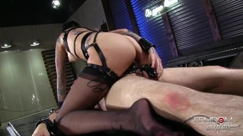 Mistress Leigh Raven - Chastity Sex Training