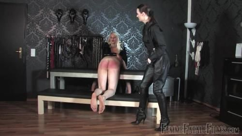 Mistress Heather, Lady Victoria Valente - Officers Fodder - Part 1