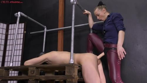 Mistress Clarissa - Pounding His Pussy