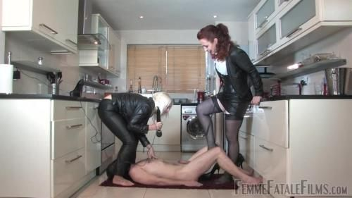 Divine Mistress Heather, Mistress Lady Renee - Cum And Be Cropped - Complete Film