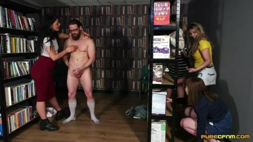 Cherry English, Lola Lee, Roxi Keogh, Sapphire Rose - Library Voyeurs