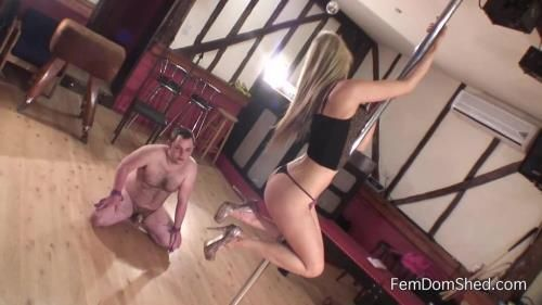 Princess Brook - Pole Dance For Chastity Cum Eater