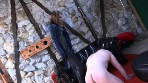 Mistress Cloe - Slapped Hard By The Bikerlady