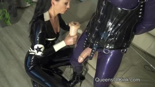 Mistress Fetish Liza - Last Milking For Rubber Doll