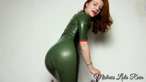 Latex Chastity Tease Pov