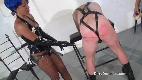 Governess Pretty Painless, Fetish Liza - Interracial Spitroasting Part 1