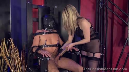 Mistress Sidonia - Chair Bondage Milking - Complete Film