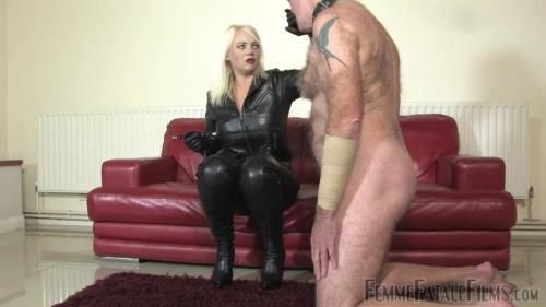 Mistress Heather - Leather Clad Smother - Part 1