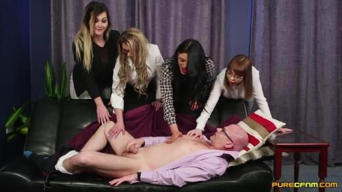 Cherry English, Lola Lee, Roxi Keogh, Sapphire Rose - Meet Her Boss