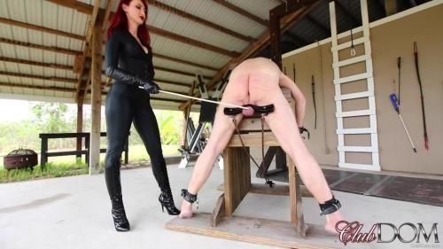 Kendra James - Kendra Punishes Her Slave - Caning