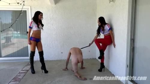 Princess Aria, Princess Bella - Ballbusting: Bella Vs. Aria