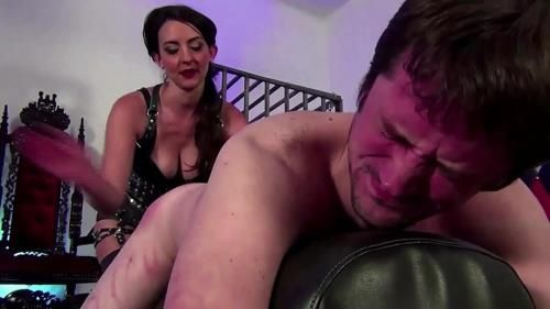 My Hands And Leather Are Your Pain Starring Mistress Stella Liberty