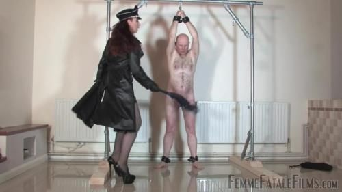 Mistress Lady Renee - Lashed Man Standing - Part 1