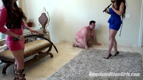 Princess Bella, Princess Carmela - Whip Slave Nasty