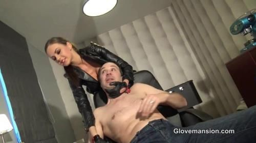Miss Tina - Silenced By Her Leather Gloves