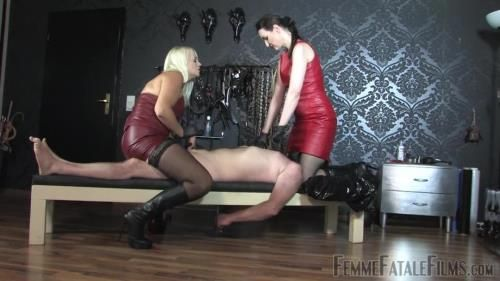 Mistress Heather, Victoria Valente - Double Smother - Complete Film