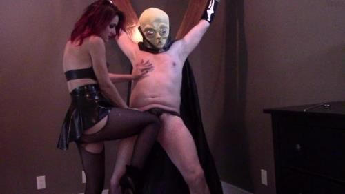 Ballbusting My Painslut With Masked Breathplay