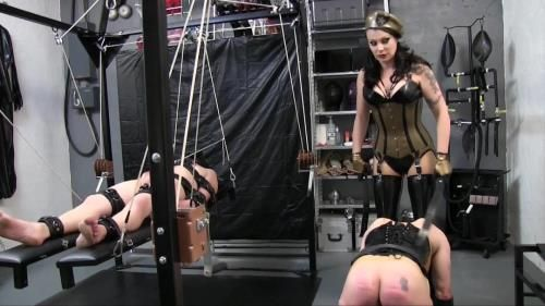 Miss Velour - Rubettes Punishment Strapping