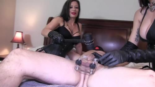 Mistress Damazonia, Miss Jasmine - Hungry Dick Swallows Her Entire Heel