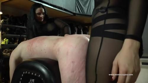 Mistress Gaia, Mistress Ezada - Strap On For Two