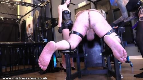 Mistress Tess, Mistress Karina, Mistress Bliss - 3 Way Peg