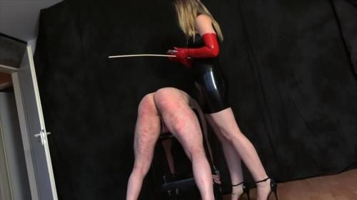 Mistress Cloe - Caned By The Latexlady
