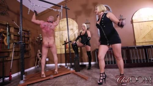 Paris Knight, Goddess Brianna - Clubdom - Whipped Into Submission