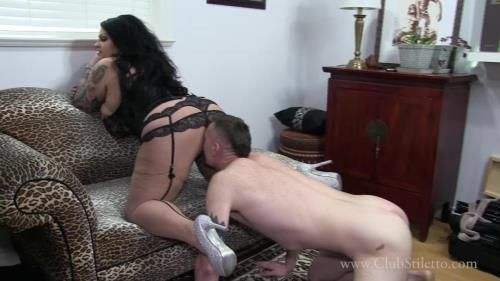 Goddess Samantha - Married Panty Sniffer Caught And Forced Into Slavery
