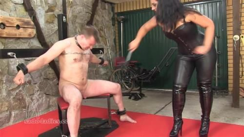 Mistress Ezada - Merciless Cock Whipping