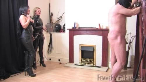 Mistress Athena, Mistress Real - Frenzied Whipping - Part 1