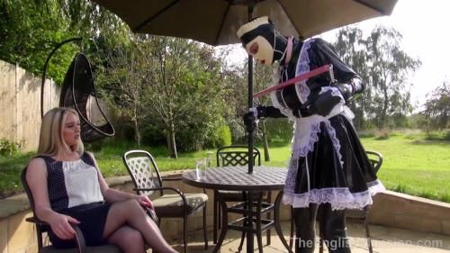 Mistress Sidonia - Tethered Sissy Maid