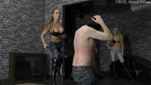 Mistress Ariel - Bullwhipped On The Floor