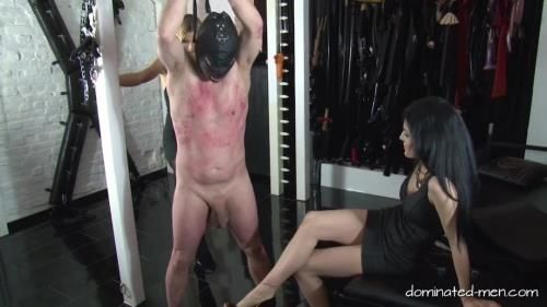 Lady Black Diamond, Lady Estelle - Double Ball Busting