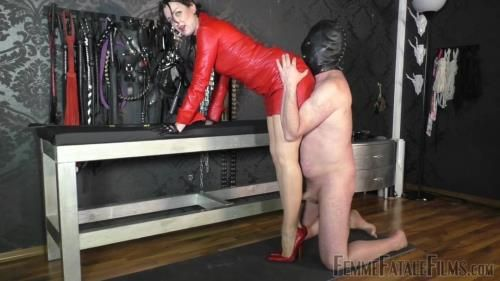 Lady Victoria Valente - Red Leather Day - Super Hd - Complete Film