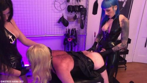 Mistress Bliss - Sissy Whore Spitroast
