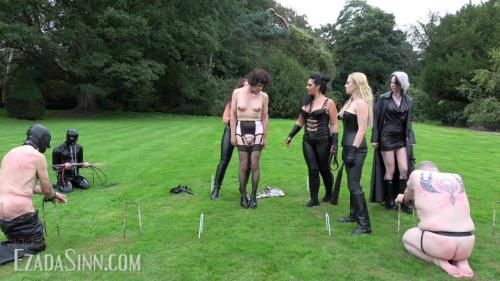 Ezada Sinn, Lile Von Hitte, Ava Von Medisin, Queen Of Wolves - Crushing The Rebels Of The Society Full Clip